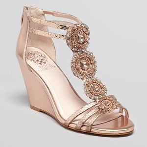 Vince Camuto • Zimily Jeweled Wedges